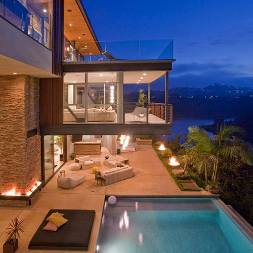 Beautiful fancy house rich image 342438 on for Beautiful rich houses