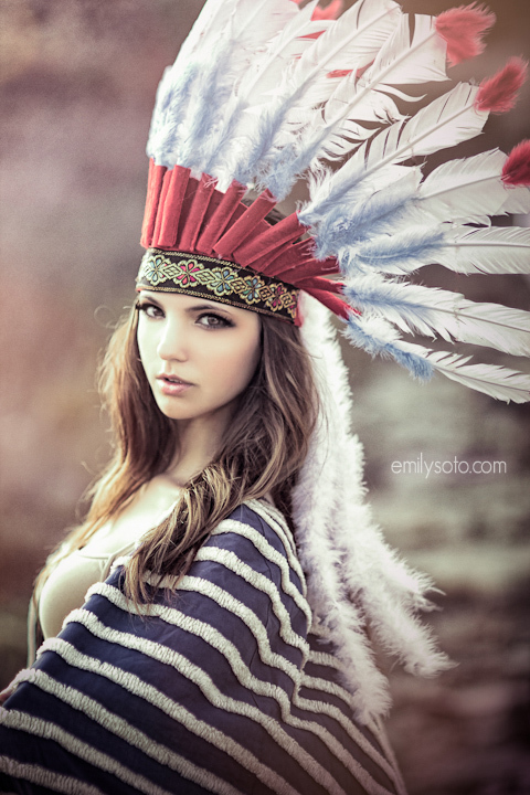 Pretty Native American Girls