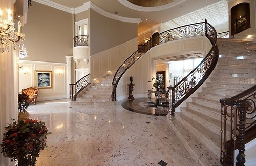 beautiful, interior, luxury, mansion