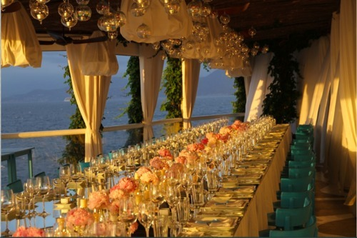 beautiful weddings italy, candlelit weddings italy, capri wedding, capri wedding planner, celebrity wedding