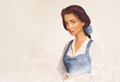 beauty and the beast, belle, disney, girl, pretty
