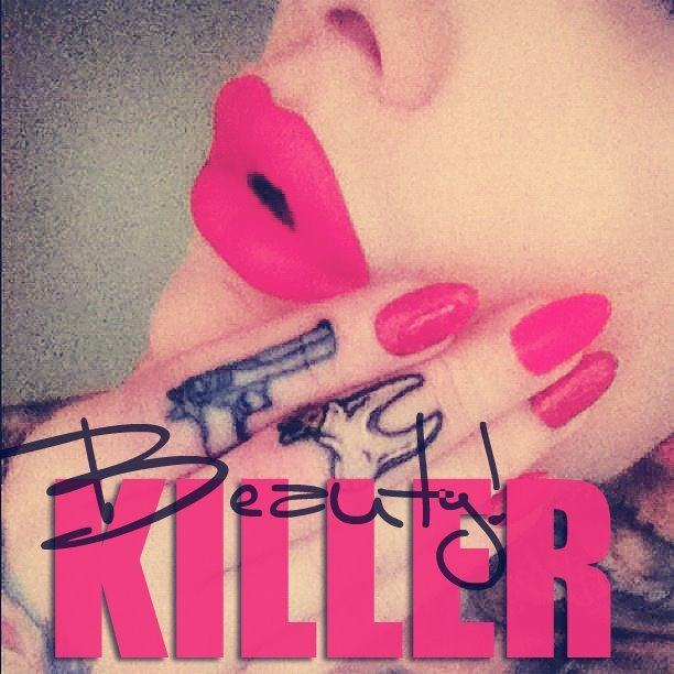 beauty, jeffree star, killer, lips, nails