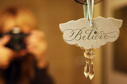believe, cute, glitter, quote, sparkle