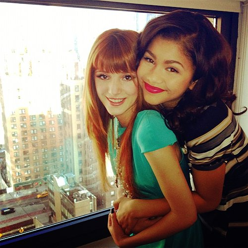 bella thorne, bff, city, zendaya