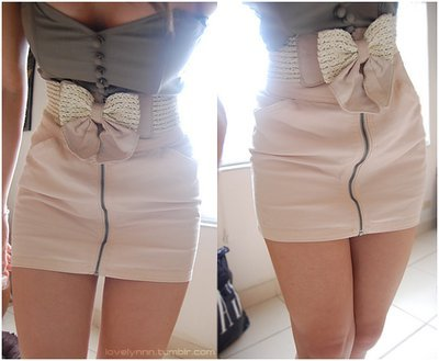 belt, bow, dress, fashion, girl, skirt