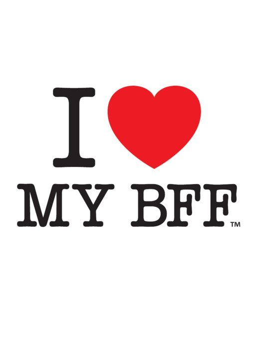 bff, heart, i love my bff, i love - image #349496 on Favim.com