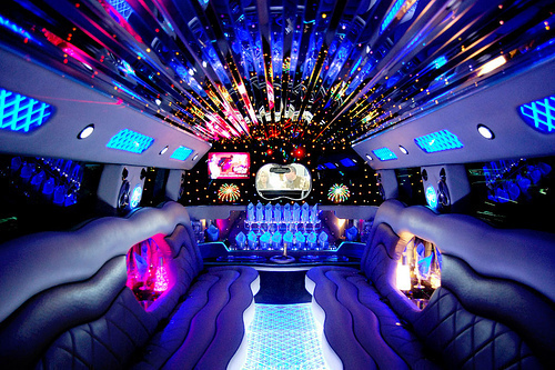 big, car, limousine, luxurious, luxury