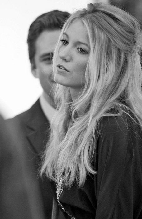 black and white, blake, blake lively, gossip girl, serena, serena van der woodsen