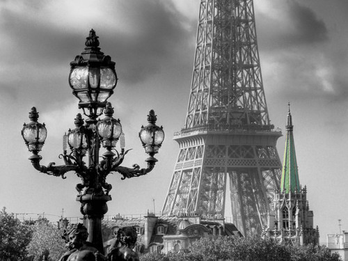 black and white, city, cute, eiffel tower, fashion