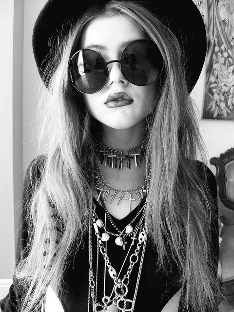 black and white, colar, cool, cruz, fashion