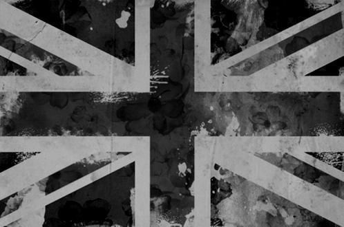 black and white, england, flag, london, photos, text