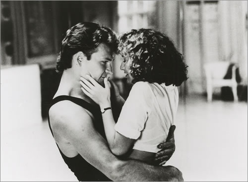 black&grey, boy, dirty dancing, girl, patrick swayze, sweet