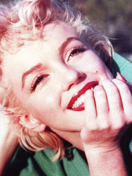 blonde, blondie, face, icon, marilyn monroe