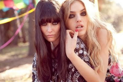 blonde, brunette, cute, fashion, hair