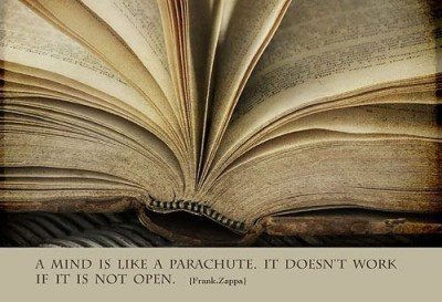 book, frank zappa, photography, quote