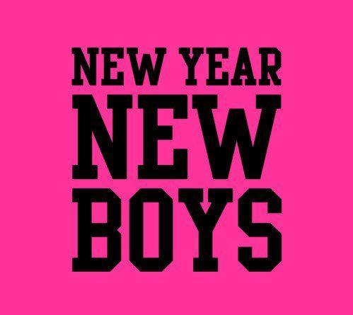 boys, love, new, new year, pink