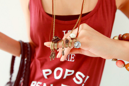 bracelets, fashion, necklaces, rings