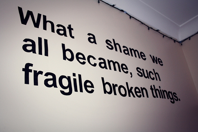 broken, fragile, let the flame begin, lyrics, paramore