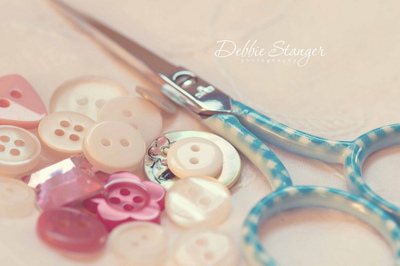 buttons, colourful, cute, girly, scissors