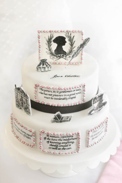 cake, jane austen, your argument is invalid