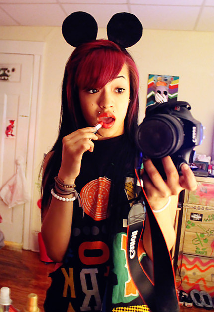 camera, cannon, dope, fresh, girl