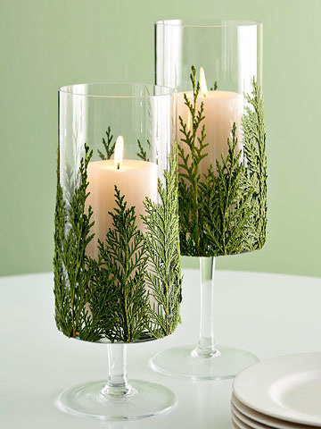 candle, candles, christmas, decor, decoration, glass, green, home, interior, interior design, white