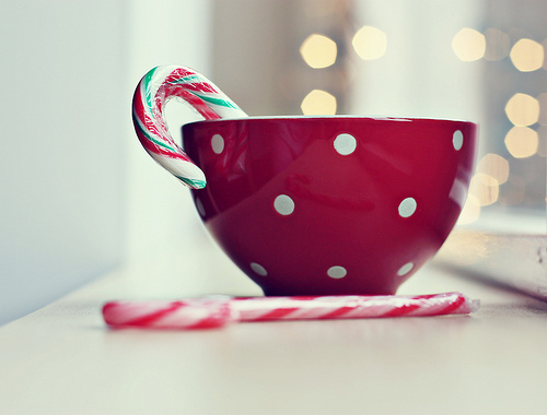 candy, candy canes, christmas, drink, festive, food, mug