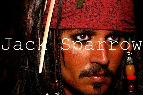 capitain, jack sparrow, johnny depp, pirates of the carribean