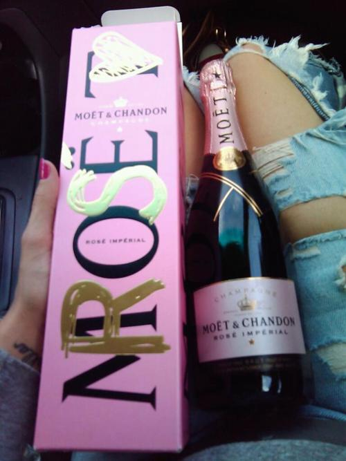 champagne, chandon, drink pink, moet, rose