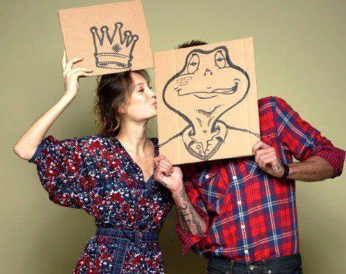 charming, couple, creative, cute, dating, fairy tale, flannel, frog, girl, guy, love, man, photgraphy, prince, princess, princess and the frog, romantic, silly, sweet