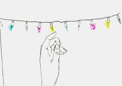 christmas, colorful, cute, drawing, hand