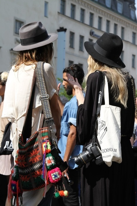 city, clothes, dress, fashion, fedora, hat, hats, street style, style, tote, totes, urban