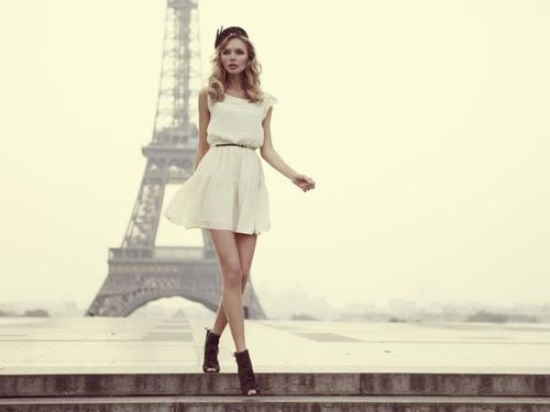 classy, fashion, girl, high fashion, model, paris, white