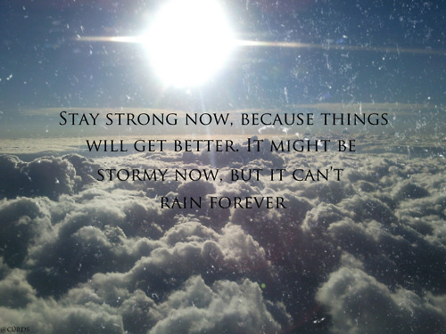 cloud, rain, sky, stay strong, storm, sun, text