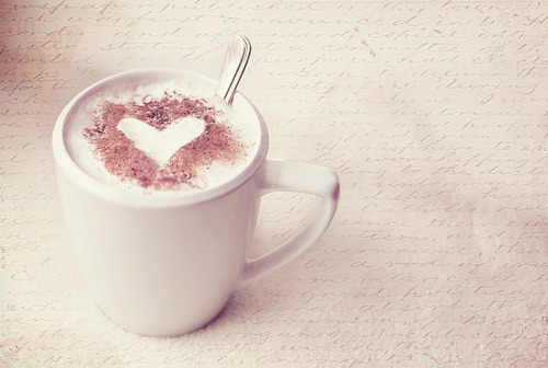 coffee, cute, food, heart, pastel