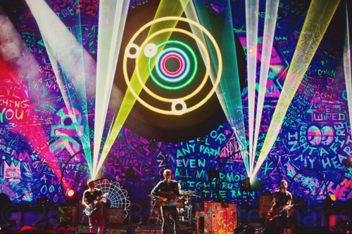 coldplay, colorfull, concert, graffitti, mylo xyloto