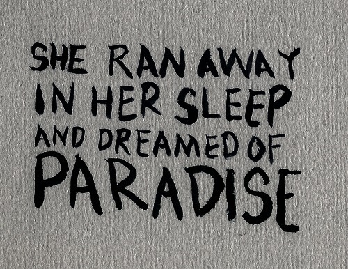 coldplay, dreaming, life, lyrics, paradise, sleep, song, text