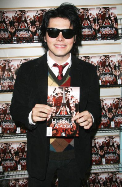 comic book, comics, gerard way, umbrella academy