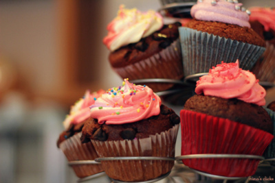 cupcakes, cute, food, pink, sweet