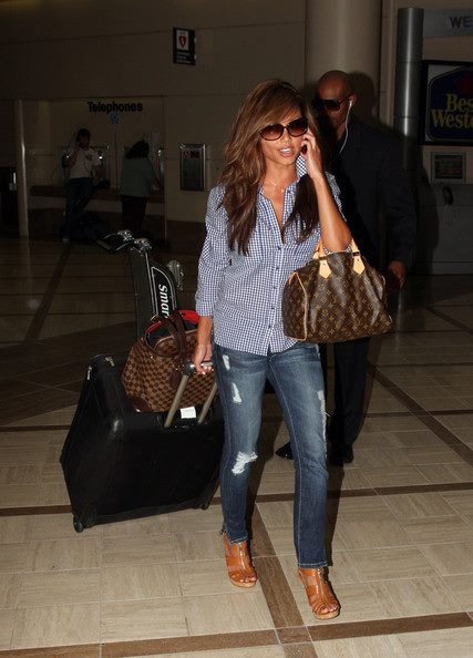 cute, fashion, girl, heels, hermes birkin, jeans, louis vuitton, luggage, outfit, pink, prada, pretty, pumps, shoes, style, vanessa minnillo