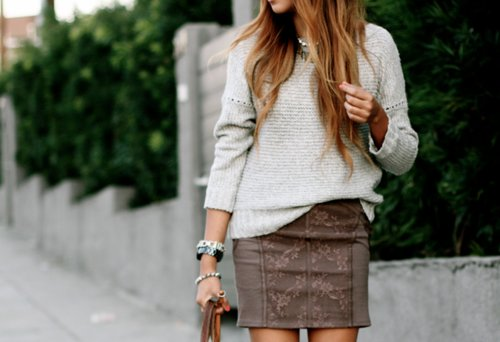 cute, fashion, love, outfit, skirt, street style, style, summer, sweater, woman