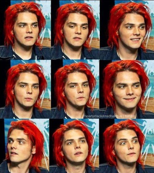 cute, gerard way, love, mcr, my chemical romance