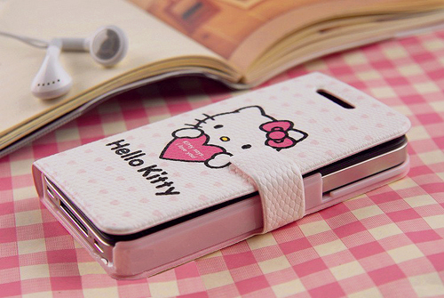 cute, hello kitty, iphone, kawaii, pink