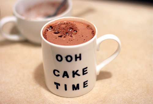 cute, hot chocolate, mini, ooh cake time