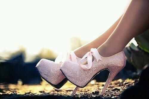 cute, pink, pretty, shoes