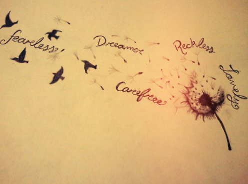 cuteness, dreamer, letters, love, nexttatt, text
