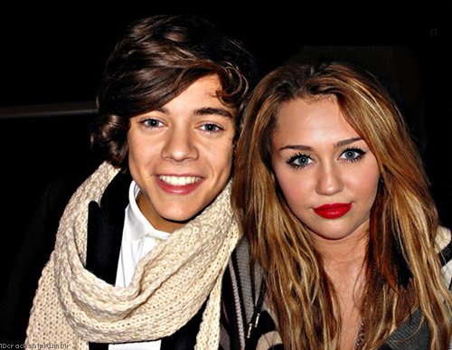 cyrus, direction, harry and miley