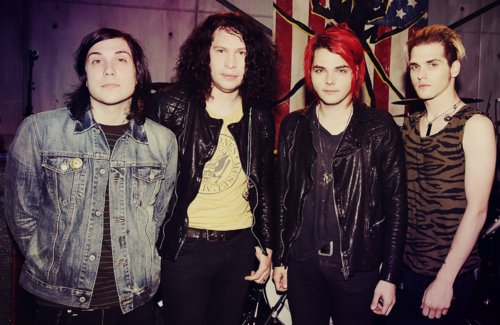 danger days, frank iero, gerard way, mcr, mikey way