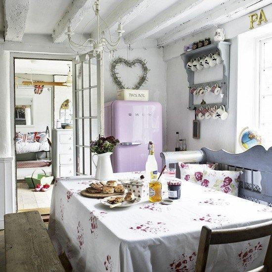 home sweet home, inspiration, kitchen, love, pink, romantic, sweet
