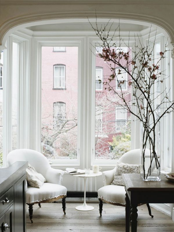design, interior, lovely, white, window